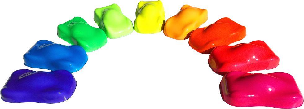 Vernici stardustcolors part 2 for Colori fluo