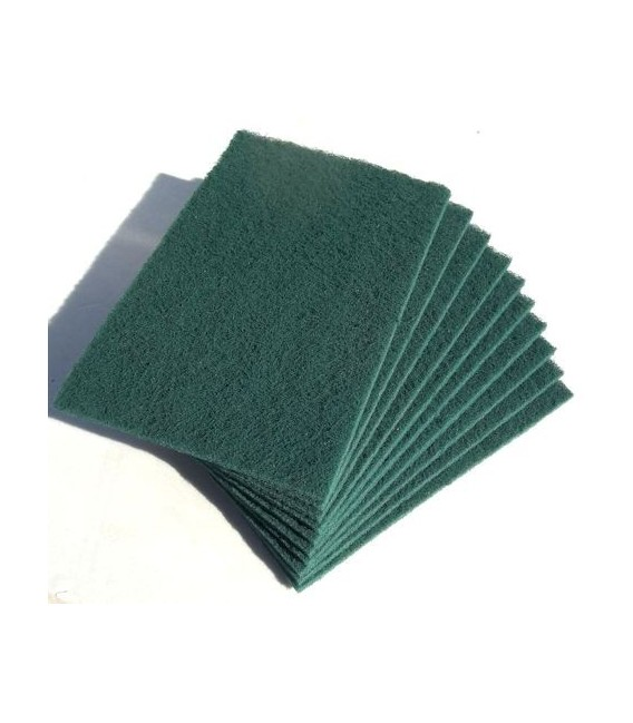 Spugna abrasiva 4 tipi (x5) Verde Normale