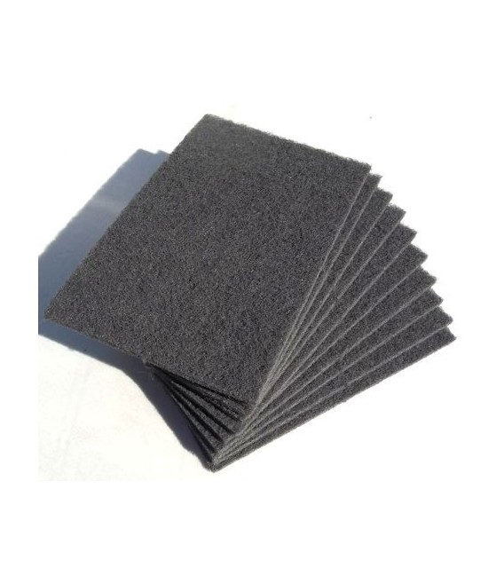 Spugna abrasiva 4 tipi (x5) gris Fine