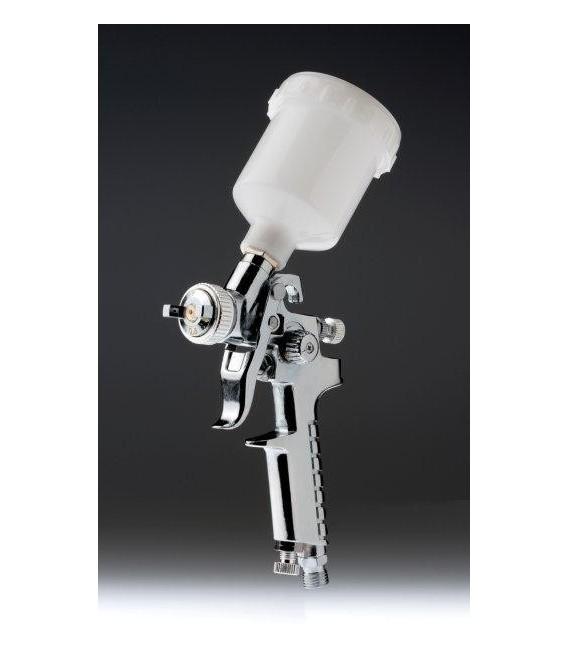 Mini pistola a spruzzo HVLP 0.8mm cromata