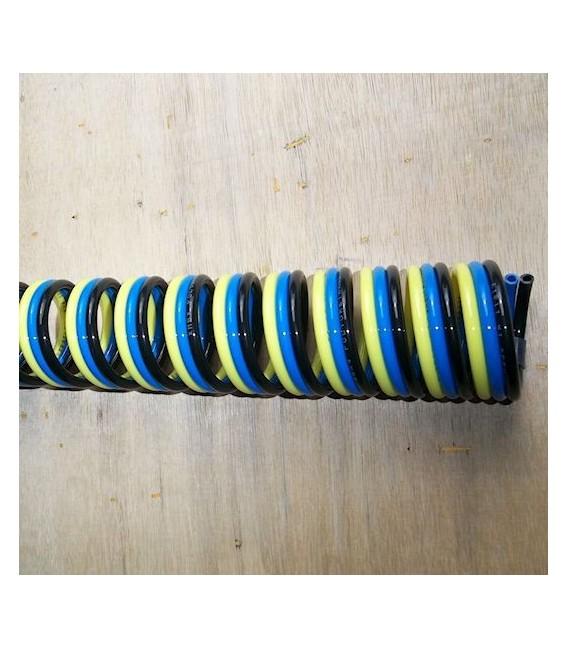 Tubi con spirale singola doppia e tripla