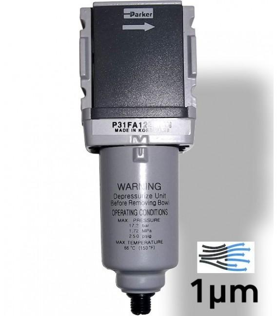 Filtri purificatori d'aria per compressori e pistole EMBN