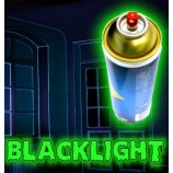 Bomba di vernice fluorescente invisibile