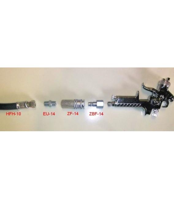 Kit di raccordi pneumatici per collegamento veloce