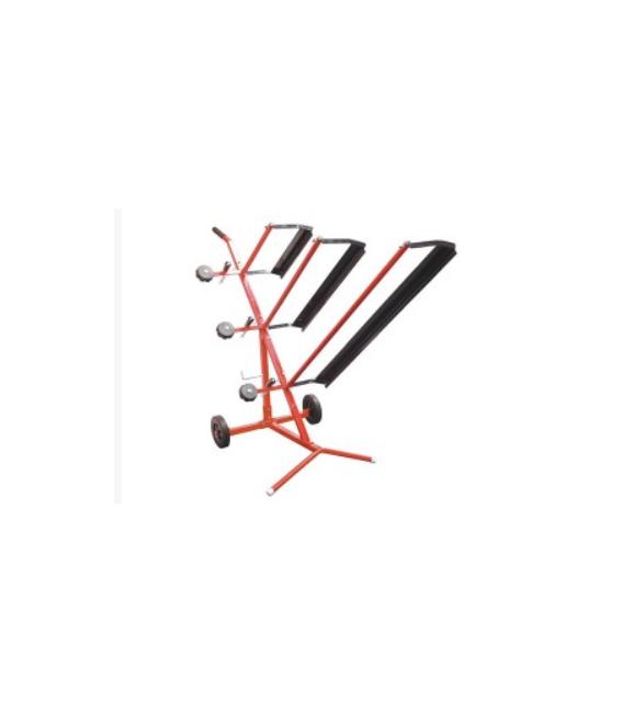 Triplo dispositivo per srotolamento per pellicole di smascheramento