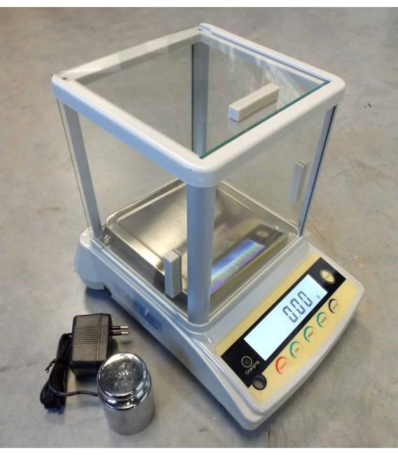 Modello di bilanciamento elettronico di precisione 0.01g / 5kg