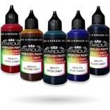 Serie Candy – 5 colori trasparenti Acrilici-PU per aerografo