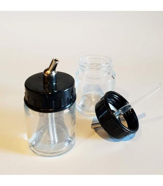 Bicchieri per aerografo in vetro 16ml