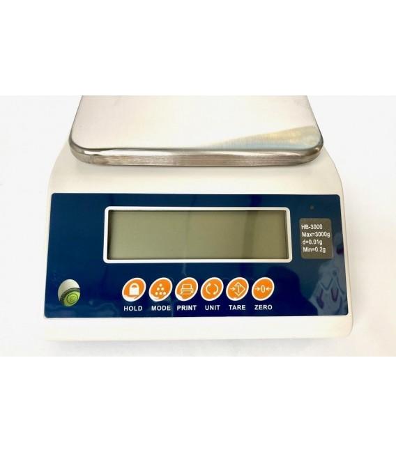 Bilancia professionale ad alta precisione 3 kg