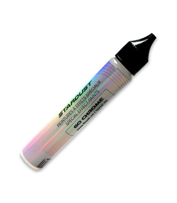GO Chrome vernice specchio al pennello monostrato