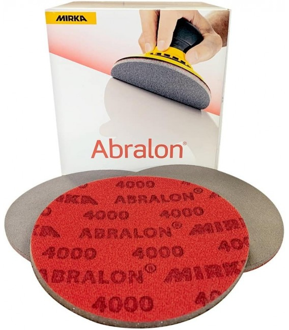 5 dischi abrasivi e di lucidatura ABRALON 1000 a 4000