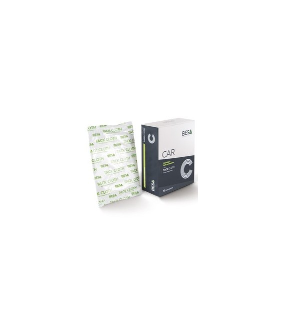 Salviette anti-polvere TackCloth BESA – Set di 10