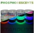 Polvere fosforescente