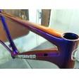 Kit completo per bici- vernice ad effetto camaleonte