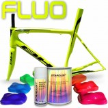 Kit completo di vernice fluorescente per bici
