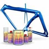 Kit completo di vernice perlata per bici