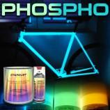 vernice fosforescente bici in kit completo barattolo o bomboletta spray