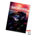 """Poster """"Black interference"""""""