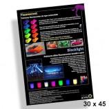 Poster 30x45cm Vernici Fluorescenti