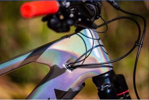 Verniciare bici effetti speciali
