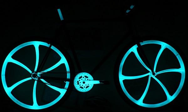 vernice per bici spray fosforescent