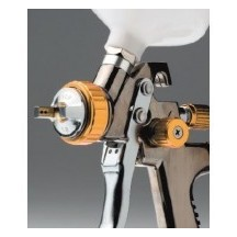 Le pistole HLVP per le vernici auto e moto