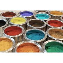 Pigmenti minerali , sintetici e metallici
