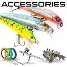 Accessori e consumabili per verniciature delle esche