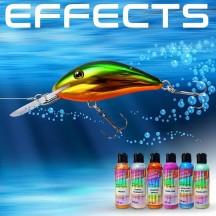 gli effetti speciali e additivi per verniciare le esche