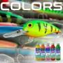 colori e tinte per le esche